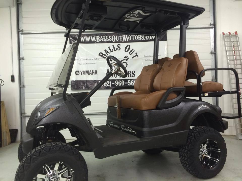 jack daniels golf cart yamaha custom